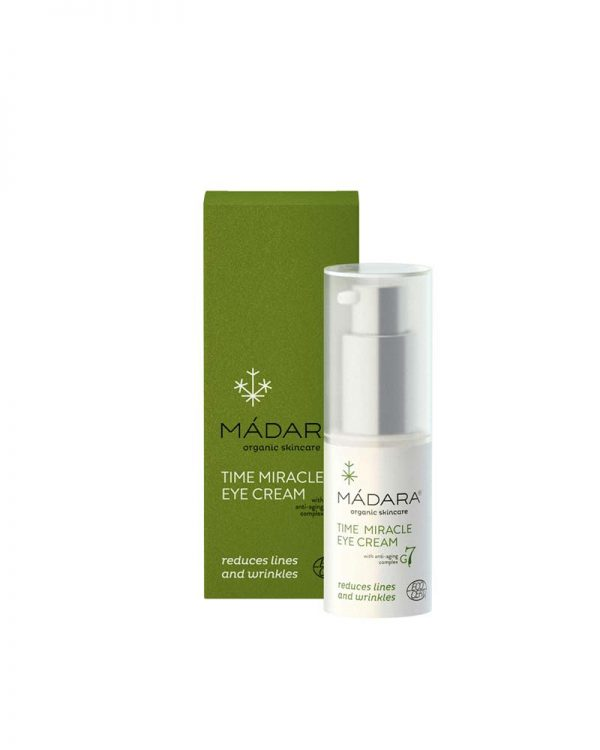CREMA CONTORNO DE OJOS TIME MIRACLE Mádara 15ml