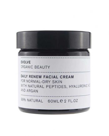Evolve Organic Hidratante facial piel normal y seca 60 ml