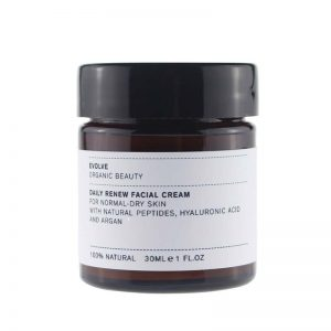 Evolve Organic Hidratante facial piel normal y seca 30 ml